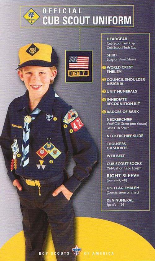 Public Uniform - Cub Scout Pack 85 (Armada, Michigan)
